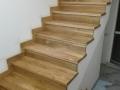 Масивни дъбови стъпала 4 см дебелина и перваз 10 см
