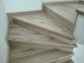Масивни слепени дъбови стъпала 4 см дебелина, нелакирани